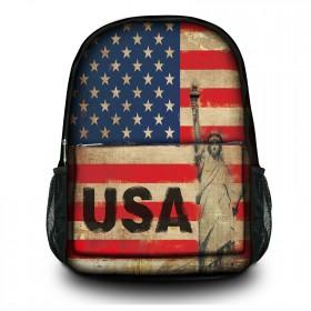 Batoh do školy a mesta 25 l - Vlajka USA
