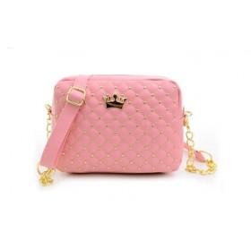 Dámská růžová kabelka princess