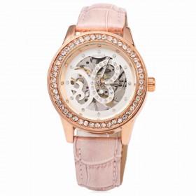 Dámské hodinky Winner Burflly - růžové