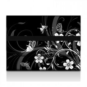 Desky na dokumenty a tablet - Kvety a motýle