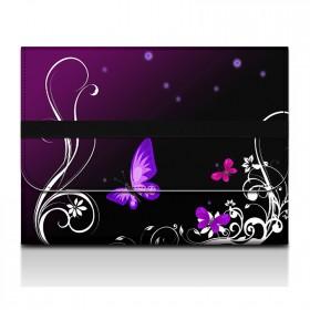 Desky na dokumenty a tablet - Purpurové motýle
