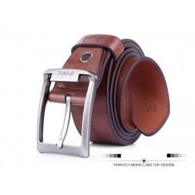 DNUXLOU pánský hnedý pásek