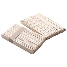Drevěné špachtle na vosk 11cm x 1cm 100 ks