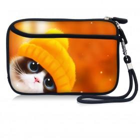 Huado kozmetické púzdro Mačiatko v čiapke