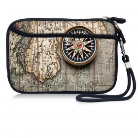 Huado kozmetické púzdro Stará mapa a kompas
