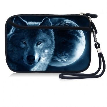 Huado kozmetické púzdro Vlk a mesiac