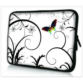 """Huado púzdro na notebook 13.3"""" farebný motýl"""