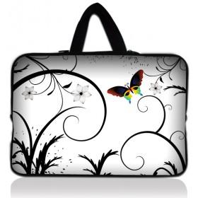 """Huado taška na notebook do 13.3"""" farebný motýl"""
