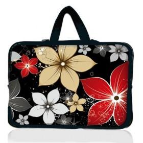 """Huado taška na notebook do 10.2"""" Večerné kvety"""