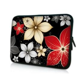 """Huado púzdro na notebook 10.2"""" Večerné kvety"""
