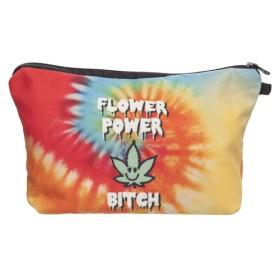 Kozmetická taštička Flower Power