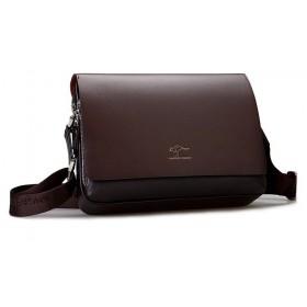 Kangaroo pánská taška cez rameno hnedá