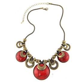Masivní náhrdelník Red Fruit