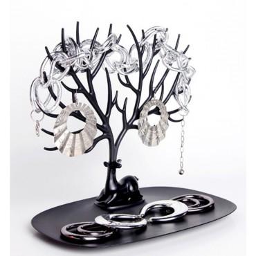 Lohas stojan na šperky čierny jeleň
