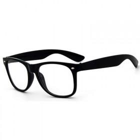 Nedioptrické okuliare wayfarer čierne