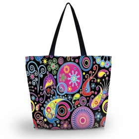 Nákupná a plážová taška Huado - Picasso style