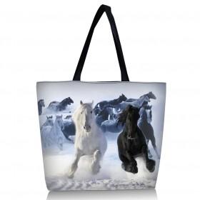 Nákupná a plážová taška Huado - Kone
