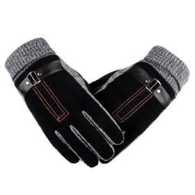 Pánské zateplené rukavice Bobby čierne