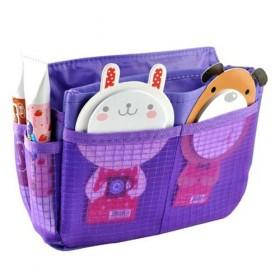 Organizér do kabelky fialový