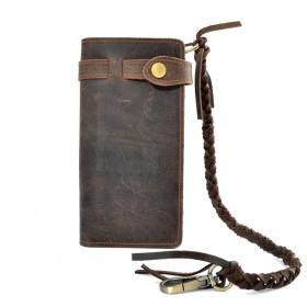 Pánská kožená peňaženka s pútkom VRM-14CW