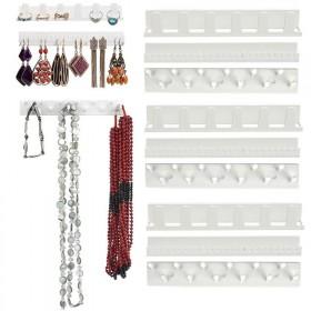 Plastový lepiaci organizér na šperky