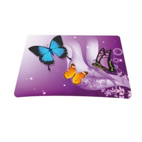 Podložka pod myš Huado- Motýle vo fialovej