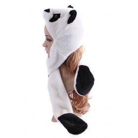Plyšová zvieracia čapica animal - Panda
