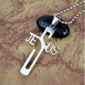 Prívesok Krížik - JESUS
