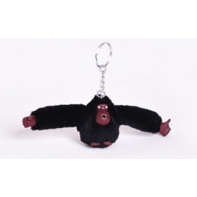 Prívesok na kabelku na kľúče orangutan čierny