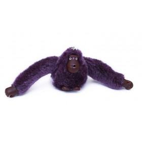 Prívesok na kabelku na kľúče orangutan fialový
