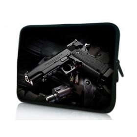 """Púzdro Huado na notebook do 10.2"""" Revolver 9 mm"""