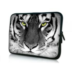 """Púzdro Huado na notebook do 10.2"""" Čiernobiely Tiger"""