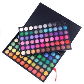 Profesionální paleta očních stínů - 120 barev - barevná