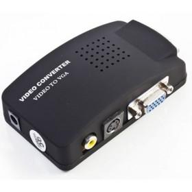Převodník signálu RCA + S-video do VGA