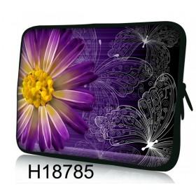 """Púzdro Huado na notebook do 10.2"""" Gerbera a motýle"""