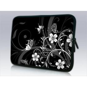 """Púzdro Huado na notebook do 13.3"""" Kvetinky a motýle"""
