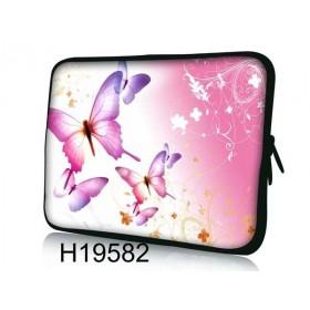 """Púzdro Huado na notebook do 13.3"""" Ružové motýle"""