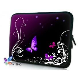 """Púzdro Huado na notebook do 14.4"""" Purpurové motýle"""