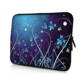 """Púzdro Huado na notebook do 14.4"""" Modré kvety"""