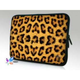 """Púzdro Huado na notebook do 14.4"""" Leopardí motiv"""