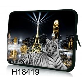"""Púzdro Huado na notebook do 14.4"""" Biely tiger"""