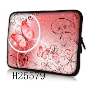 """Púzdro Huado na notebook do 14.4"""" Rúžový motýľ"""
