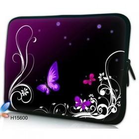 """Púzdro Huado na notebook do 17.4"""" Purpurové motýle"""