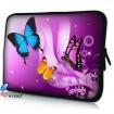"""Púzdro Huado na notebook do 17.4"""" Motýle vo fialovej"""