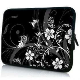 """Púzdro Huado na notebook do 17.4"""" Kvetinky a motýle"""