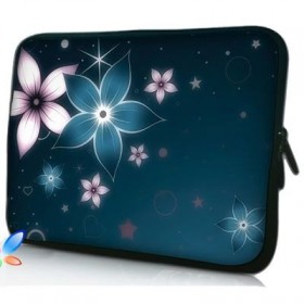 """Púzdro Huado na notebook do 17.4"""" Modré kvety"""