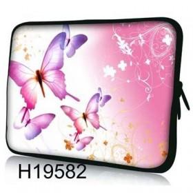 """Púzdro Huado na notebook do 17.4"""" Ružové motýle"""