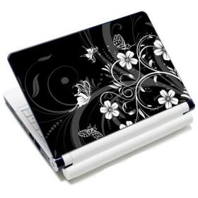 "Samolepka, skin Huado na notebook 12""-15,6"" Kvetinky a motýle"