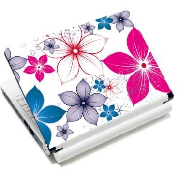 "Samolepka, skin Huado na notebook 12""-15,6"" Kvety na jar"