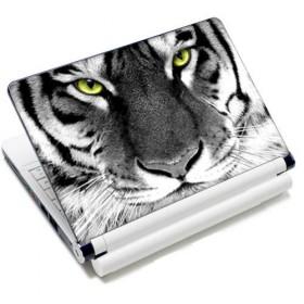"""Samolepka, skin Huado na notebook 12""""-15,6"""" Čiernobiely Tiger"""